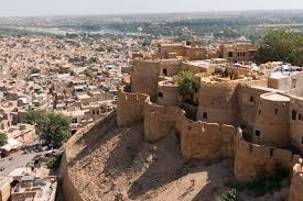 PALACES AND FORTS OF JAISALMER JODHPUR UDAIPUR