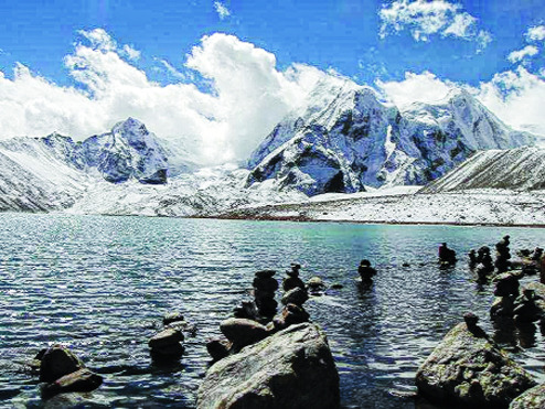 Scenic Glory of Sikkim
