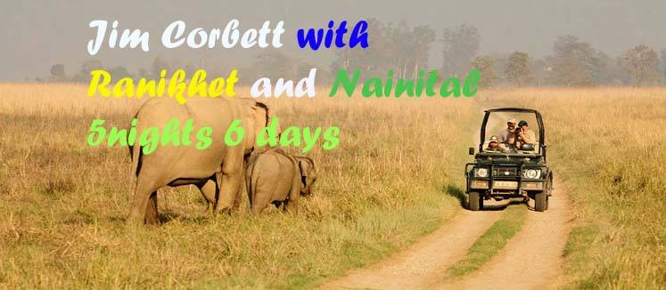 Jim Corbett with Nainital and Ranikhet