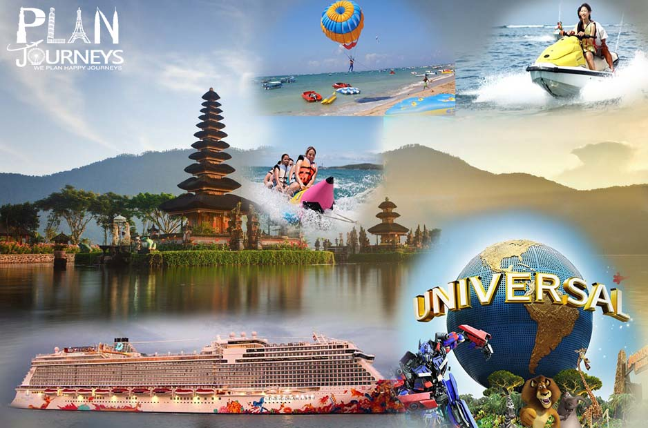 Singapore with cruise and Bali tour package