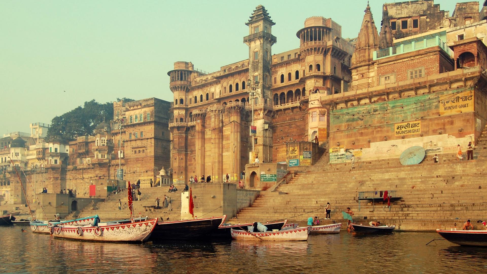 Holy Step to Varanasi