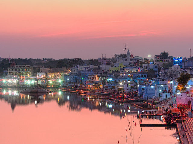 Jaipur and Pushkar