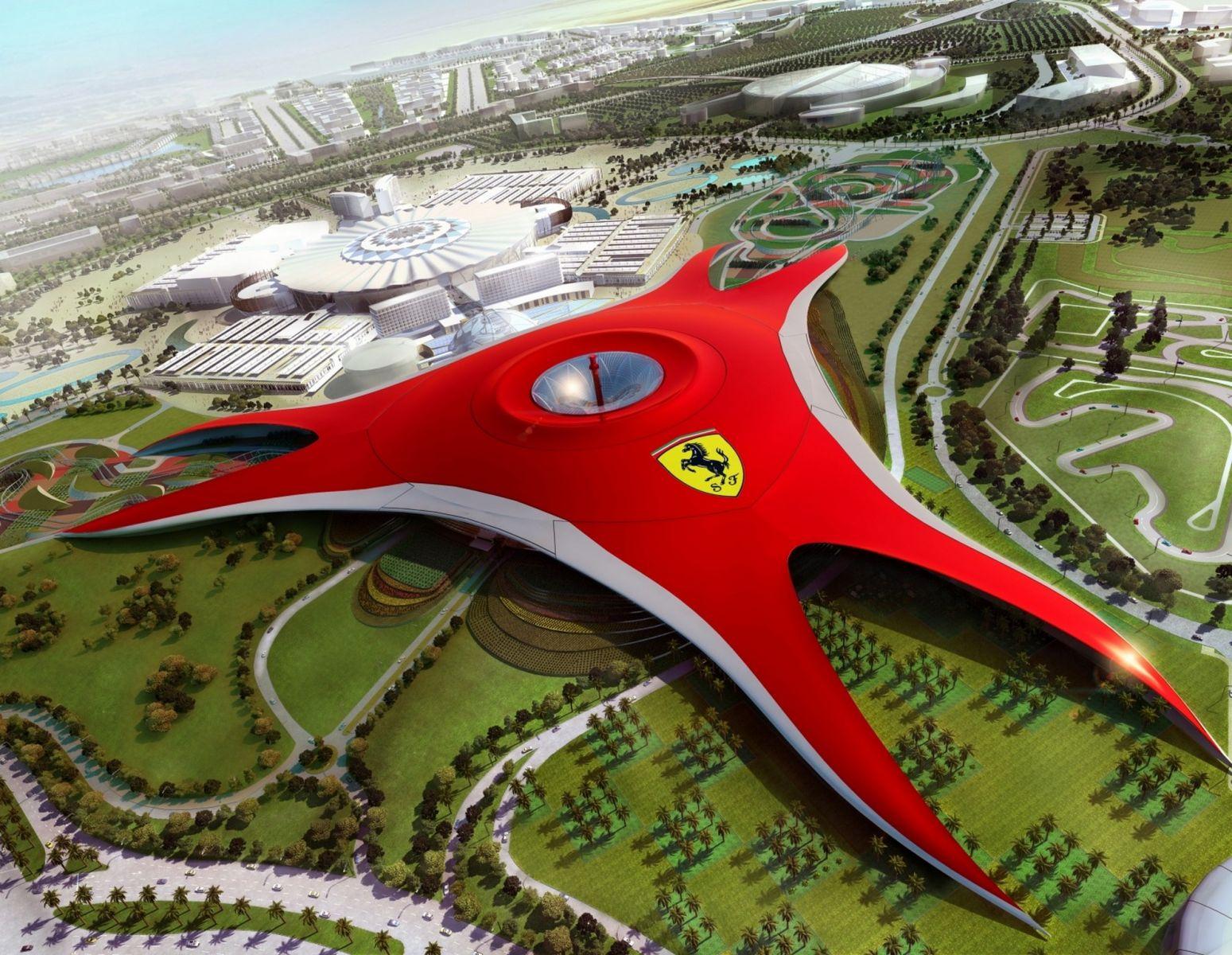DUBAI  ABU DHABI  FERRARI WORLD