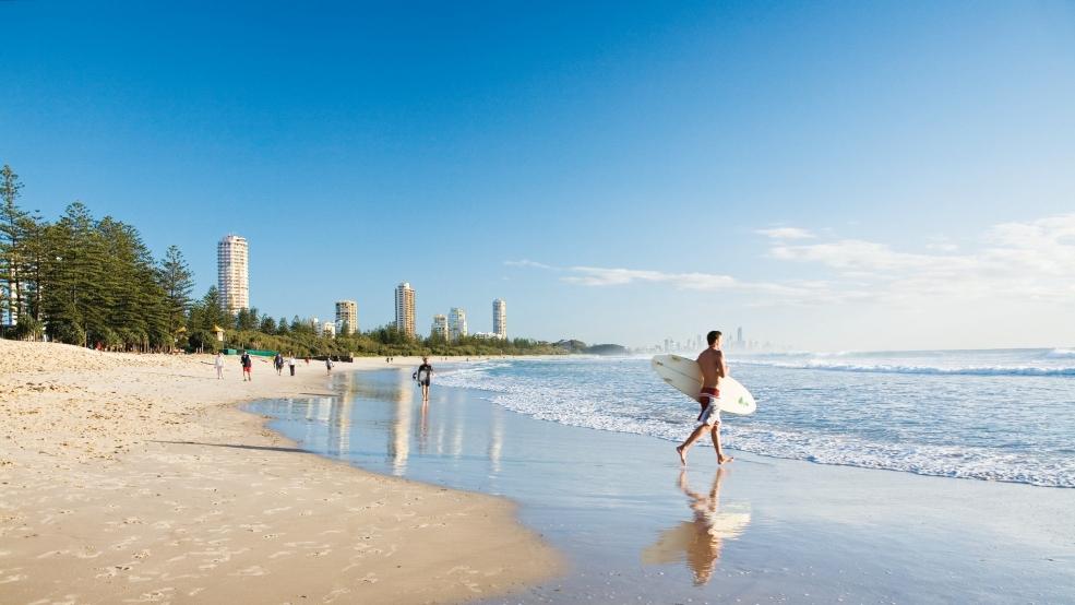 Australia Economy Brisbane  Gold Coast  Suns