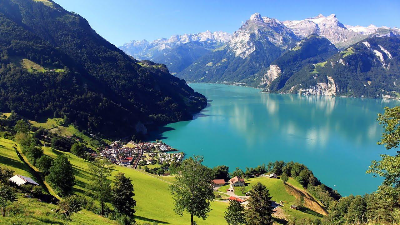 Paris and Switzerland Lucerne